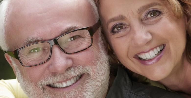 влюбленная пара в возрасте